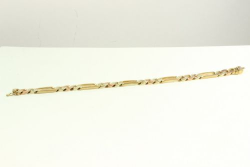 9ct Gold 3 Colour Bracelet