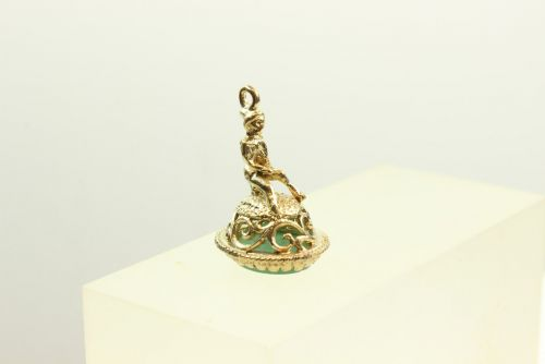 9ct Gold Pixie Seal Charm