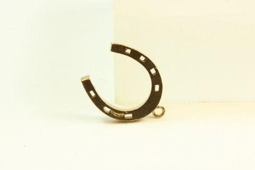 9ct Gold Charm-Horseshoe