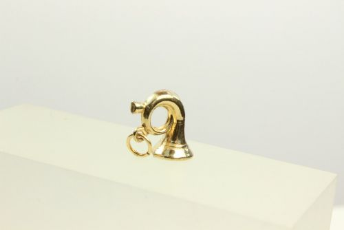 9ct Gold Hollow Charm-Musical