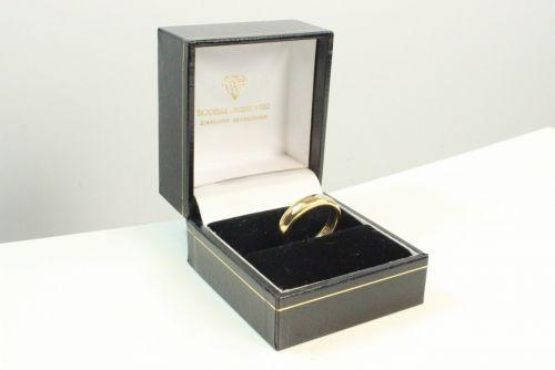 18ct Gold Plain Wedding Ring