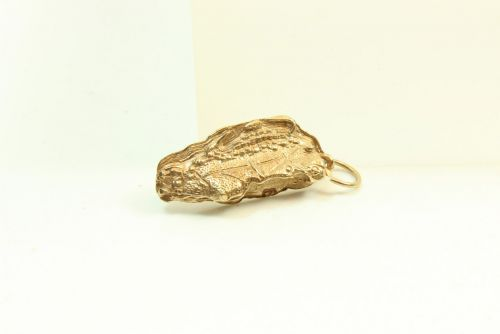 9ct Gold Solid Charm- Gibraltar