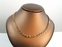 9ct Gold Solid 18inch Fancy Chain