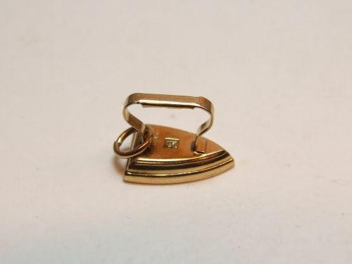 9ct Gold Charm- Iron