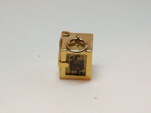 9ct Gold Charm-Pack of Cards