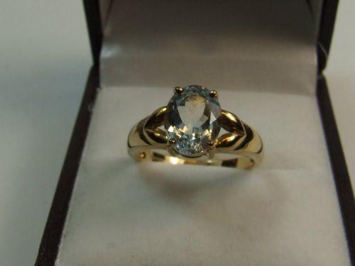 9ct Gold Ladies Dress Ring