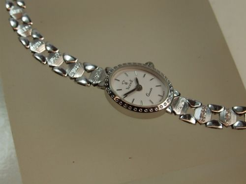 9ct White Gold Vicence Watch