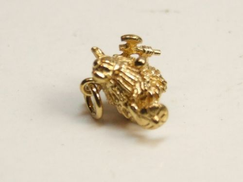 9ct Gold Solid Charm- Hagar the Horrible
