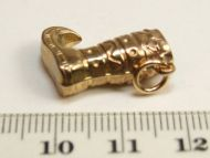 9ct Gold Charm- Fancy Boot