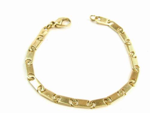 18ct Gold Ladies Fancy Ladies Bracelet