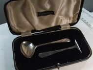 Silver Spoon and Pusher Set