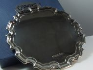 Silver 6 inch Solid Tray