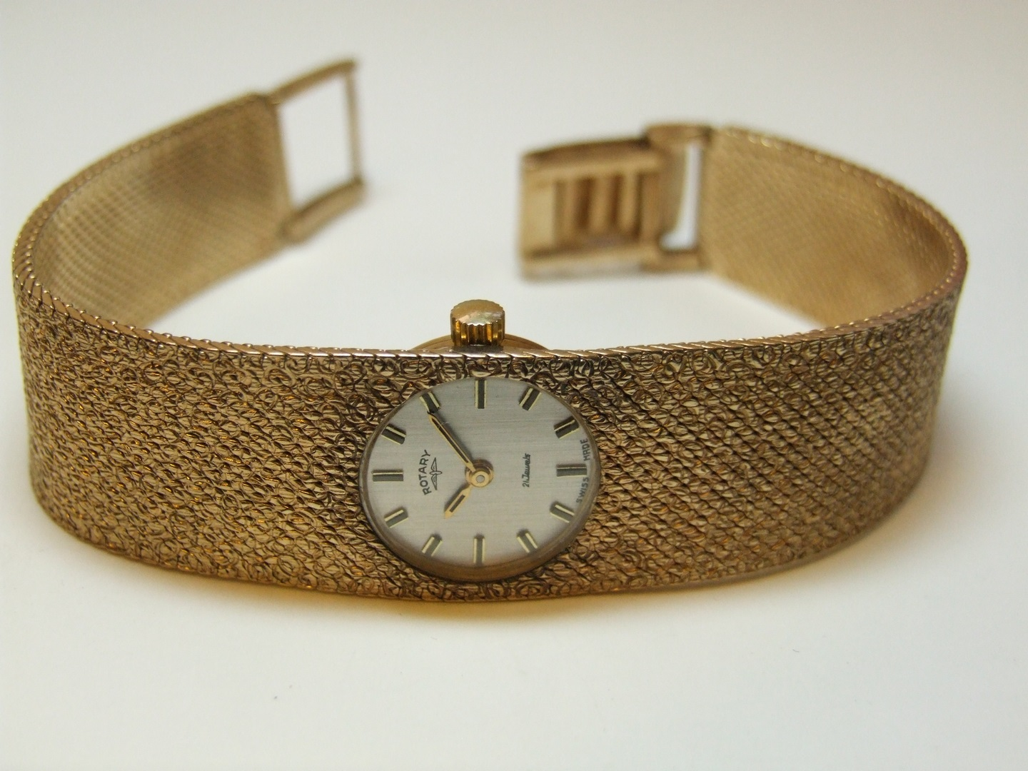 9ct Gold Ladies Rotary Bracelet Watch